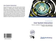 Bookcover of User System Interaction