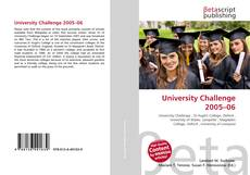 Bookcover of University Challenge 2005–06