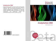 Bookcover of Analytisches CRM