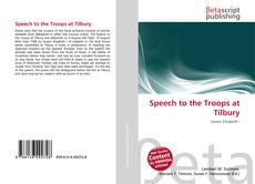Copertina di Speech to the Troops at Tilbury