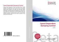 Bookcover of Speed Dependent Damping Control
