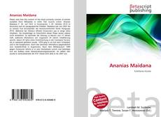 Capa do livro de Ananías Maidana