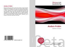 Capa do livro de Anders Fridén