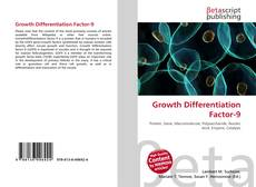 Bookcover of Growth Differentiation Factor-9
