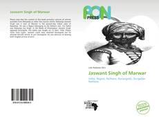 Capa do livro de Jaswant Singh of Marwar