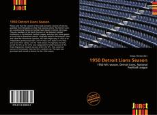 Обложка 1950 Detroit Lions Season