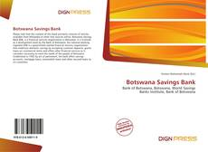 Bookcover of Botswana Savings Bank