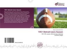 Обложка 1951 Detroit Lions Season