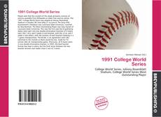 Buchcover von 1991 College World Series