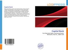 Bookcover of Capital Bank