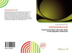 Bookcover of Interbank Burundi