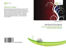 Bookcover of Afriland First Bank