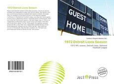 Обложка 1972 Detroit Lions Season
