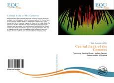 Couverture de Central Bank of the Comoros