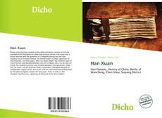 Portada del libro de Han Xuan
