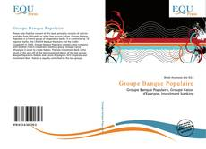 Bookcover of Groupe Banque Populaire
