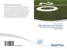 Copertina di 1981 Detroit Lions Season