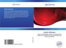 Bookcover of Leslie Johnson
