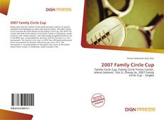 Bookcover of 2007 Family Circle Cup