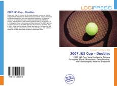 Bookcover of 2007 J&S Cup – Doubles