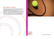 Bookcover of 2007 J&S Cup – Singles