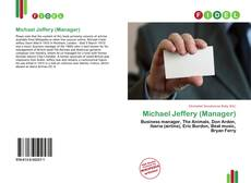 Bookcover of Michael Jeffery (Manager)