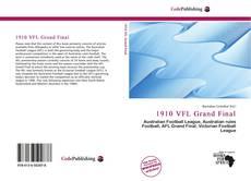 1910 VFL Grand Final kitap kapağı