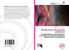 Capa do livro de Bill Morrison (Australian politician)