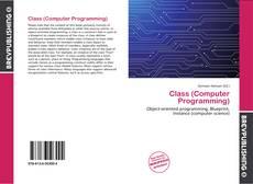 Обложка Class (Computer Programming)