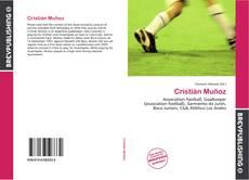 Portada del libro de Cristián Muñoz