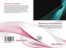 Couverture de Résonance de Helmholtz
