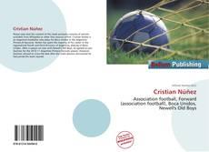 Capa do livro de Cristian Núñez