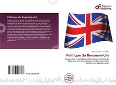Bookcover of Politique du Royaume-Uni