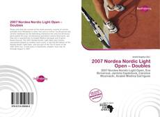 Обложка 2007 Nordea Nordic Light Open – Doubles
