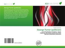 Bookcover of George Turner (politician)