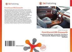 Portada del libro de Ford Escort RS Cosworth