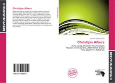 Bookcover of Christijan Albers