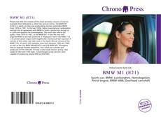 Portada del libro de BMW M1 (E21)