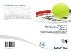Buchcover von 2007 Sunfeast Open – Singles