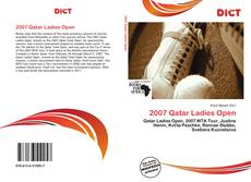 Bookcover of 2007 Qatar Ladies Open