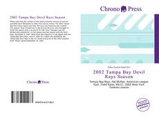 Capa do livro de 2002 Tampa Bay Devil Rays Season