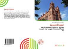 Bookcover of Lønset Chapel