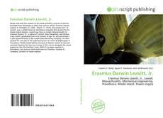 Portada del libro de Erasmus Darwin Leavitt, Jr.