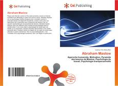 Bookcover of Abraham Maslow