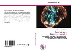 Bookcover of Psychologie Transpersonnelle