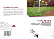 Carlos Zambrano (footballer) kitap kapağı