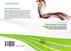 Bookcover of Psychologie Intégrale