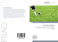 Capa do livro de Air Force Falcons