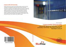 Bookcover of Lipscomb University