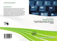 Capa do livro de Content Farm
